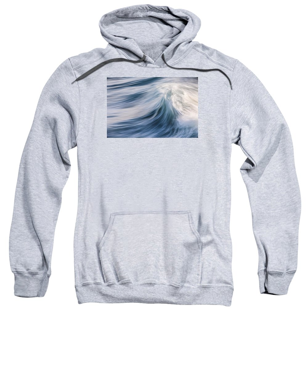 Wave Sweatshirt featuring the photograph Transverse Xviii by Justin Bartels