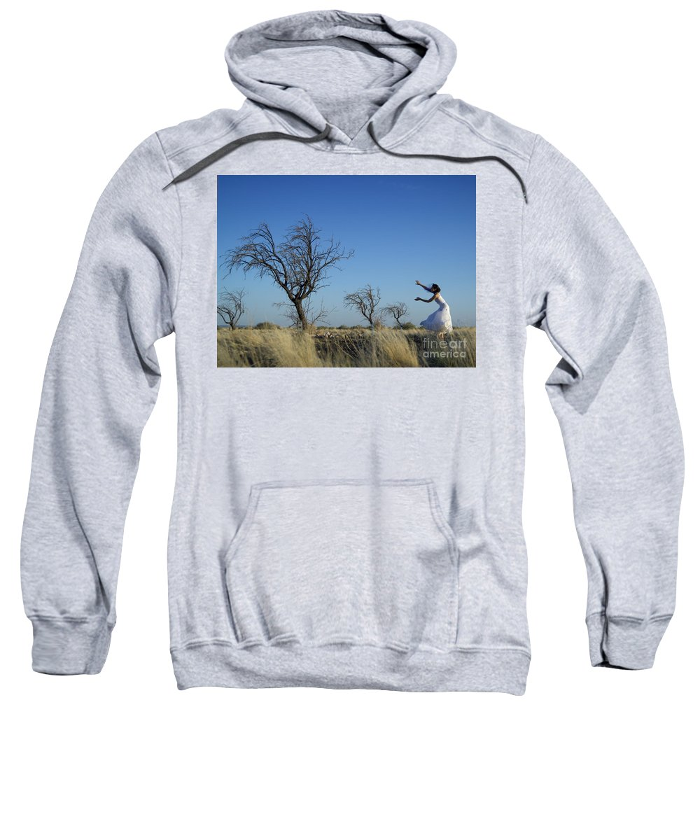Landscape Sweatshirt featuring the photograph Tree Echo by Scott Sawyer
