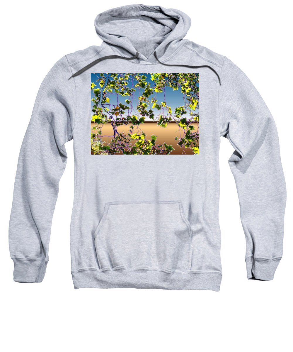 Tree Sweatshirt featuring the photograph Tree Leaves by Tim Allen