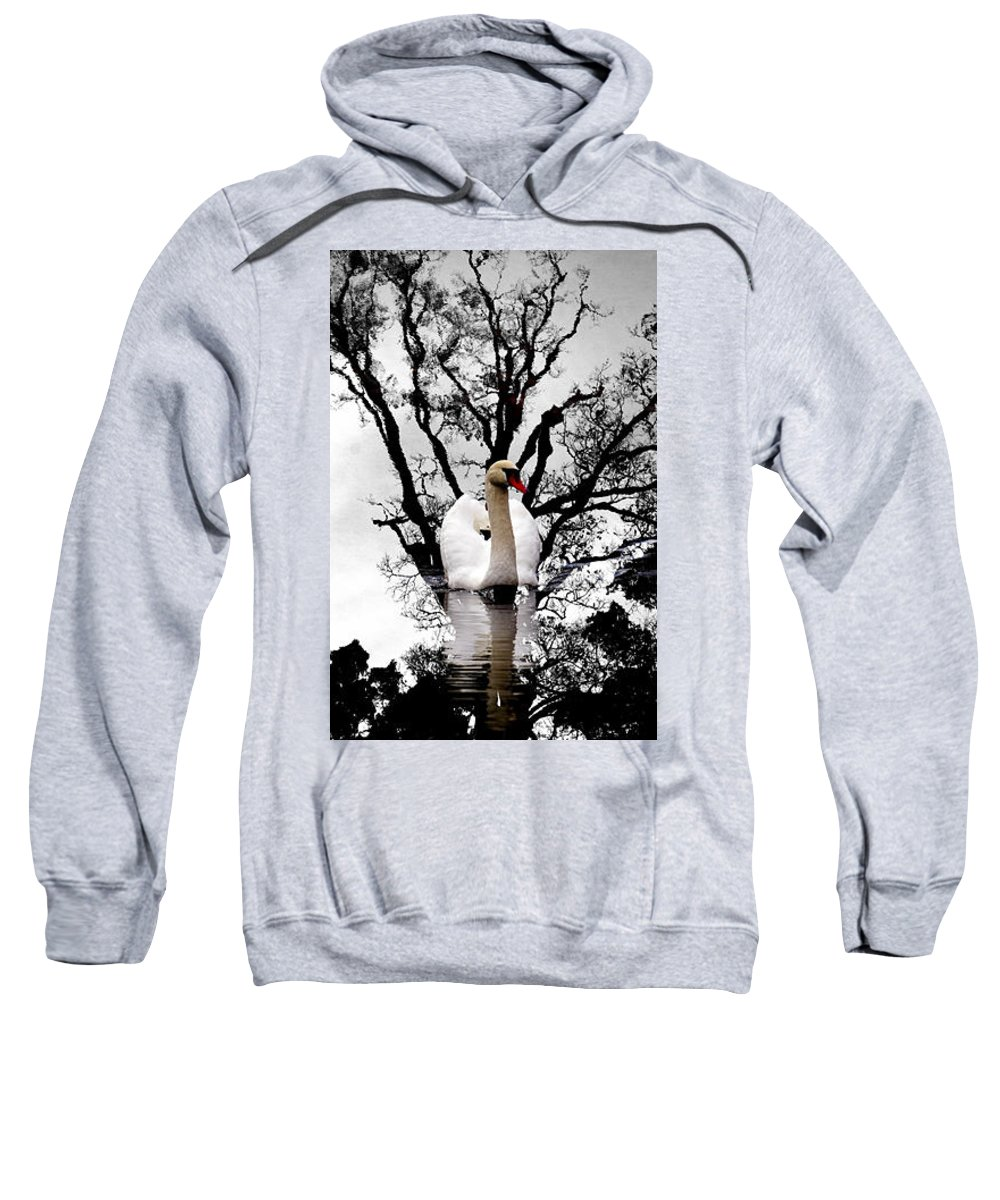 Water Sweatshirt featuring the photograph Trees In Japan 6 by George Cabig