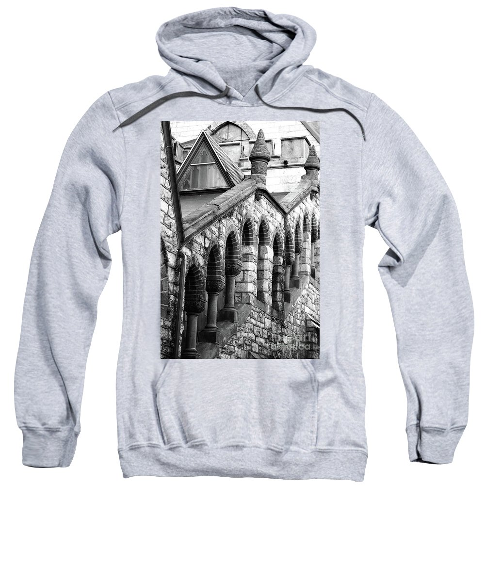 Architecture Sweatshirt featuring the photograph Triangle View by Lori Tambakis