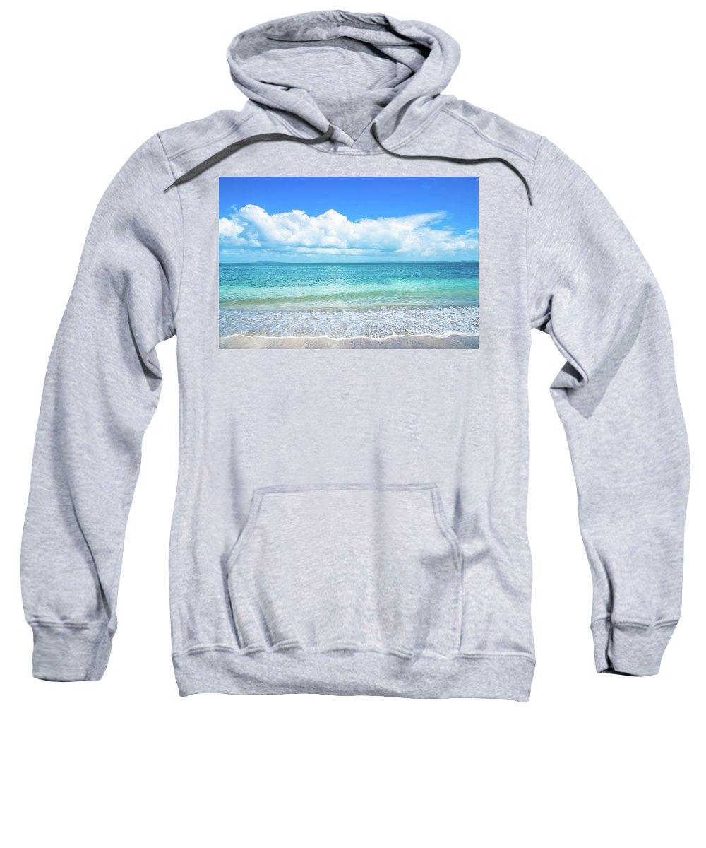 Beach Sweatshirt featuring the photograph Tropical Beach by Wai Yee Thang
