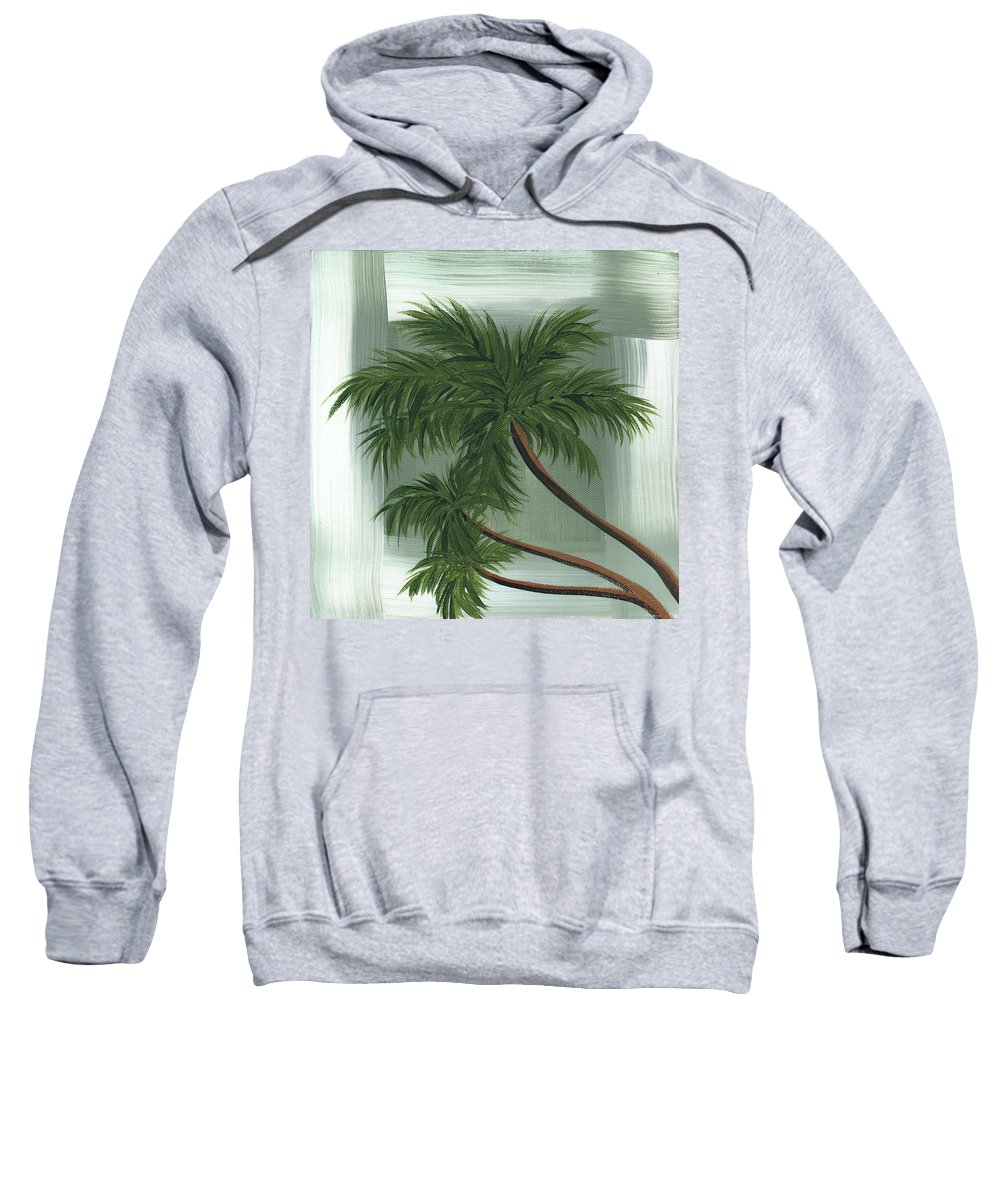 Wall Sweatshirt featuring the painting Tropical Splash 1 By Madart by Megan Duncanson