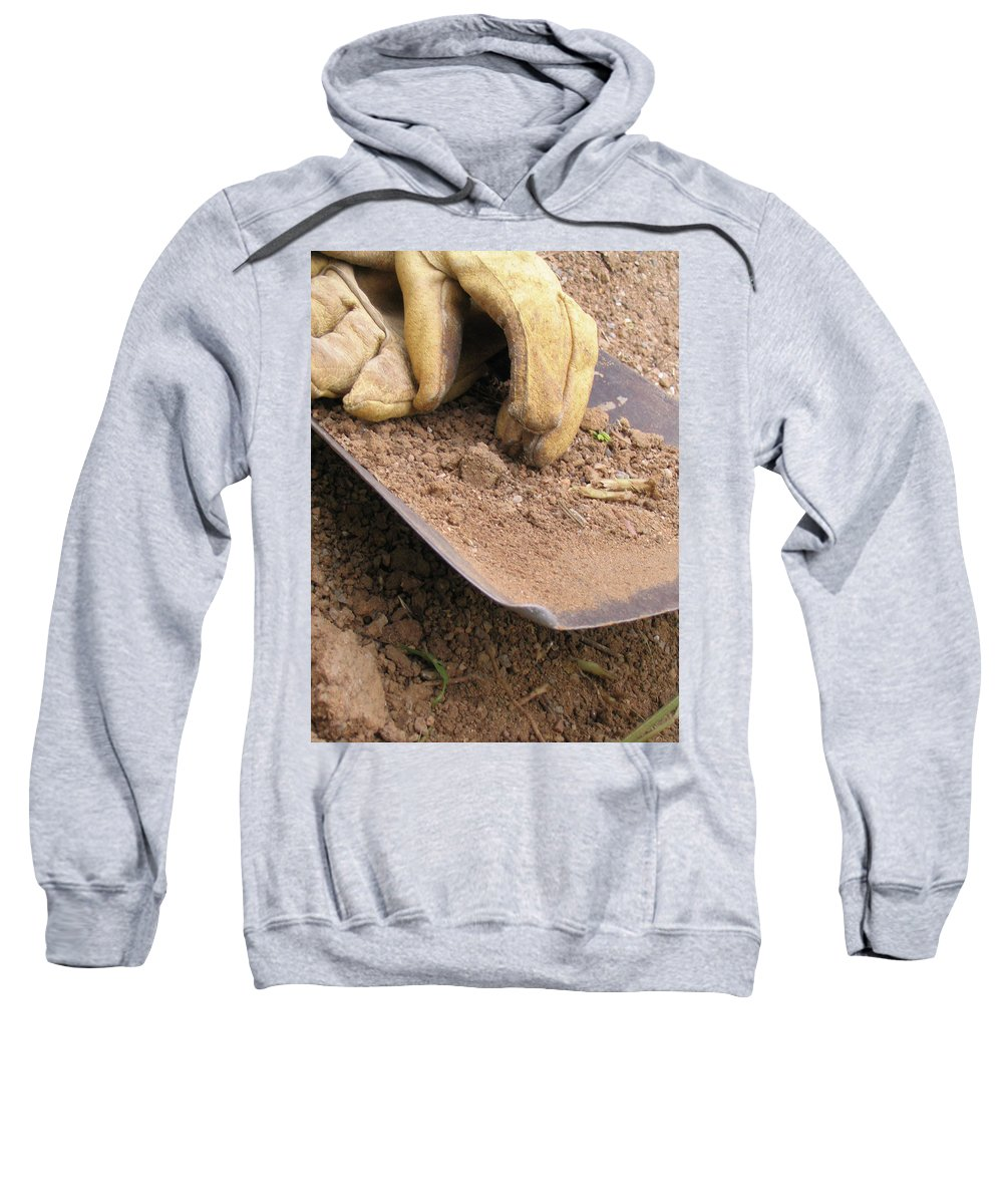 Photography Sweatshirt featuring the photograph True Work by Dawn Marshall