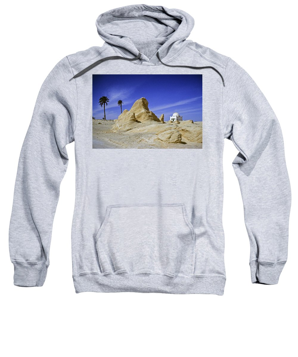 Africa Sweatshirt featuring the photograph Tunisian Desertscape by Michele Burgess
