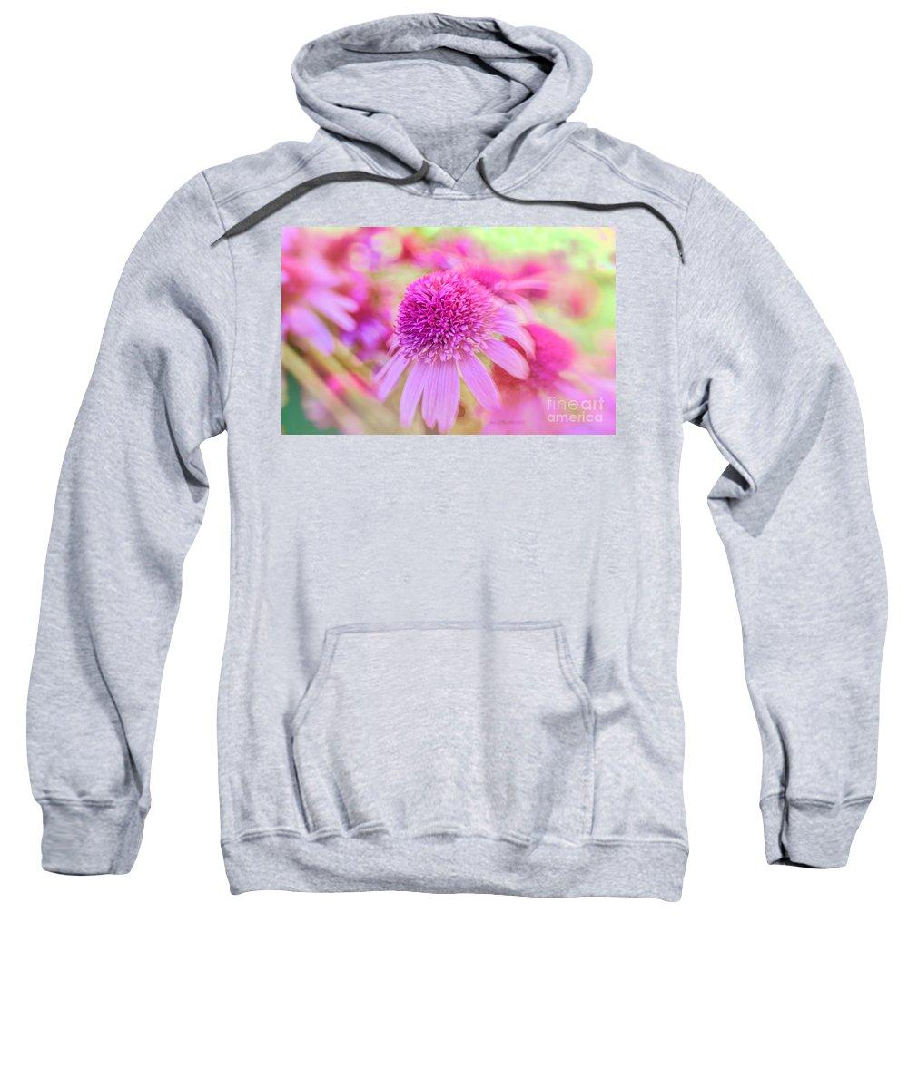 Macro Sweatshirt featuring the photograph Turn Our Eyes by Jean OKeeffe Macro Abundance Art