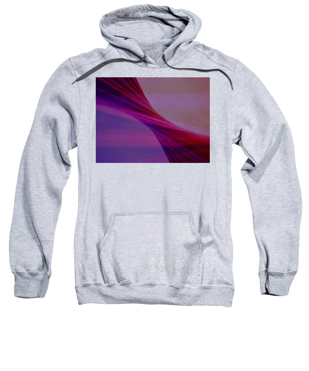 Twist Sweatshirt featuring the digital art Twist by Tim Allen