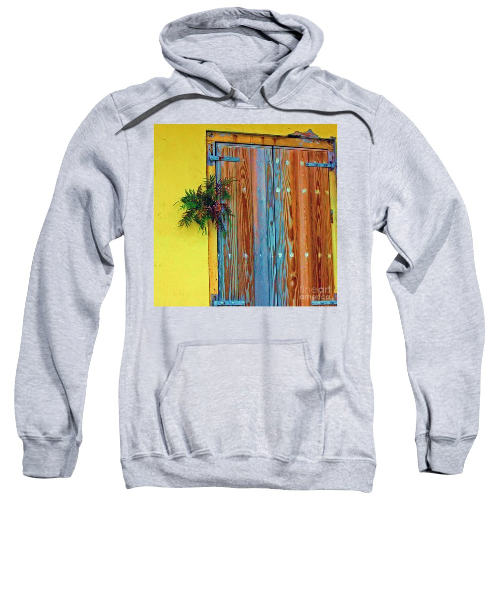 Door Sweatshirt featuring the photograph Twisted Root by Debbi Granruth