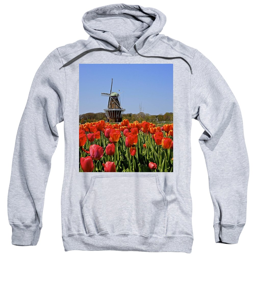 Tulips Sweatshirt featuring the photograph Two Lips by Robert Pearson