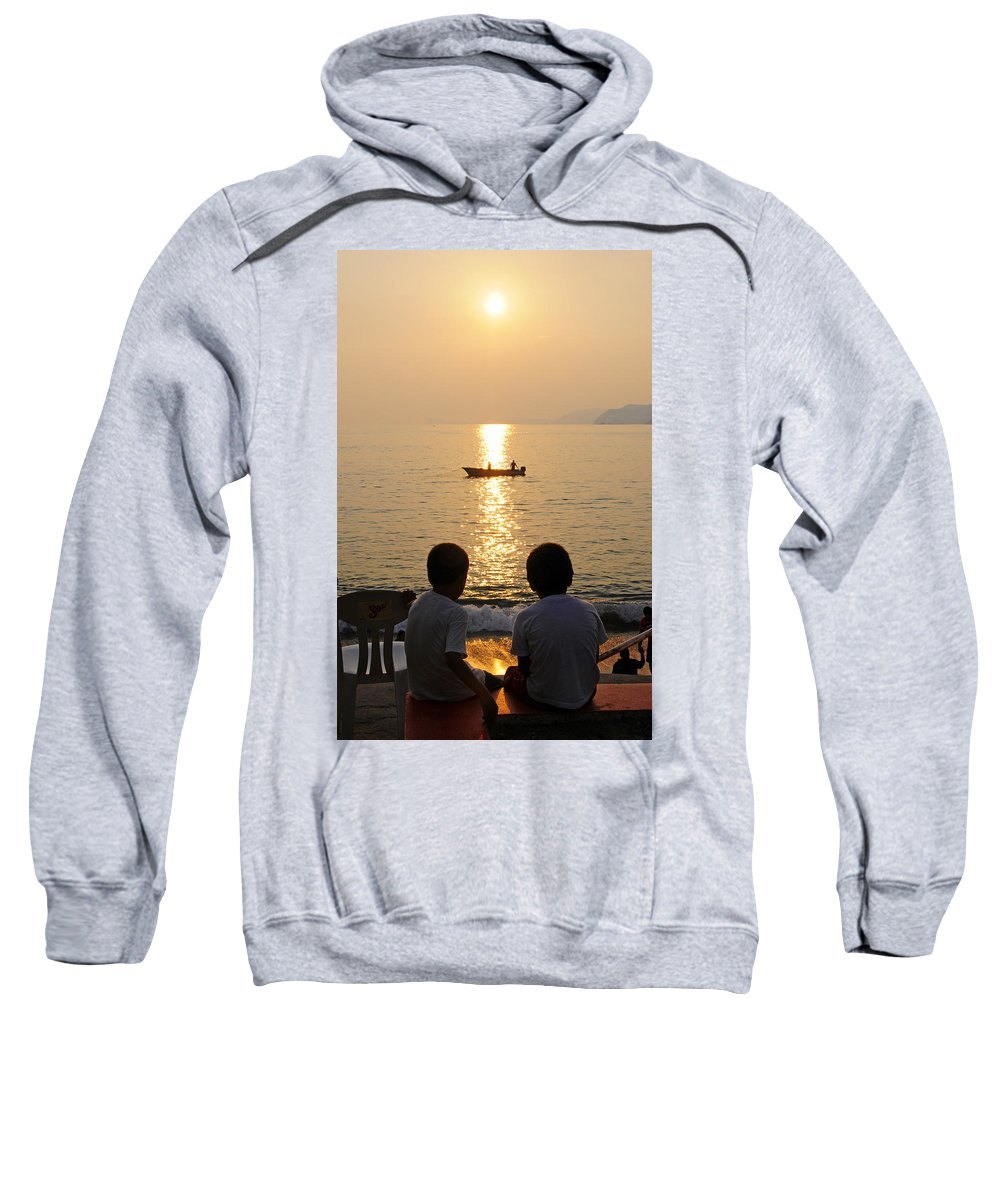 Skip Hunt Sweatshirt featuring the photograph Twofer by Skip Hunt