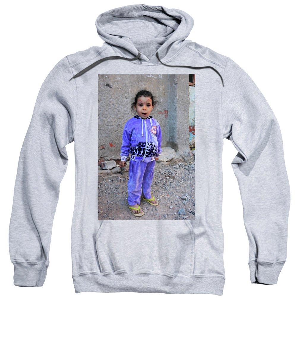 Jezcself Sweatshirt featuring the photograph umm by Jez C Self