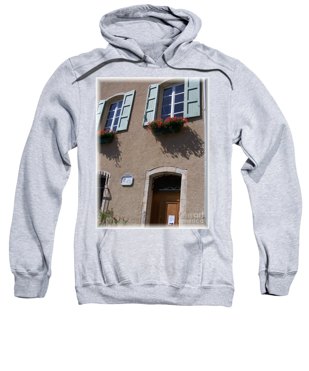 House Sweatshirt featuring the photograph Un Maison by Nadine Rippelmeyer
