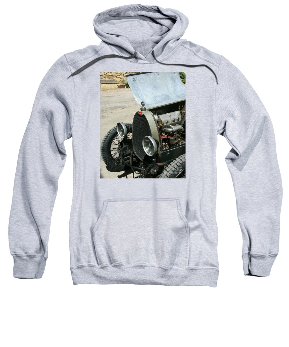 Hood Sweatshirt featuring the photograph Under The Hood by Christiane Schulze Art And Photography