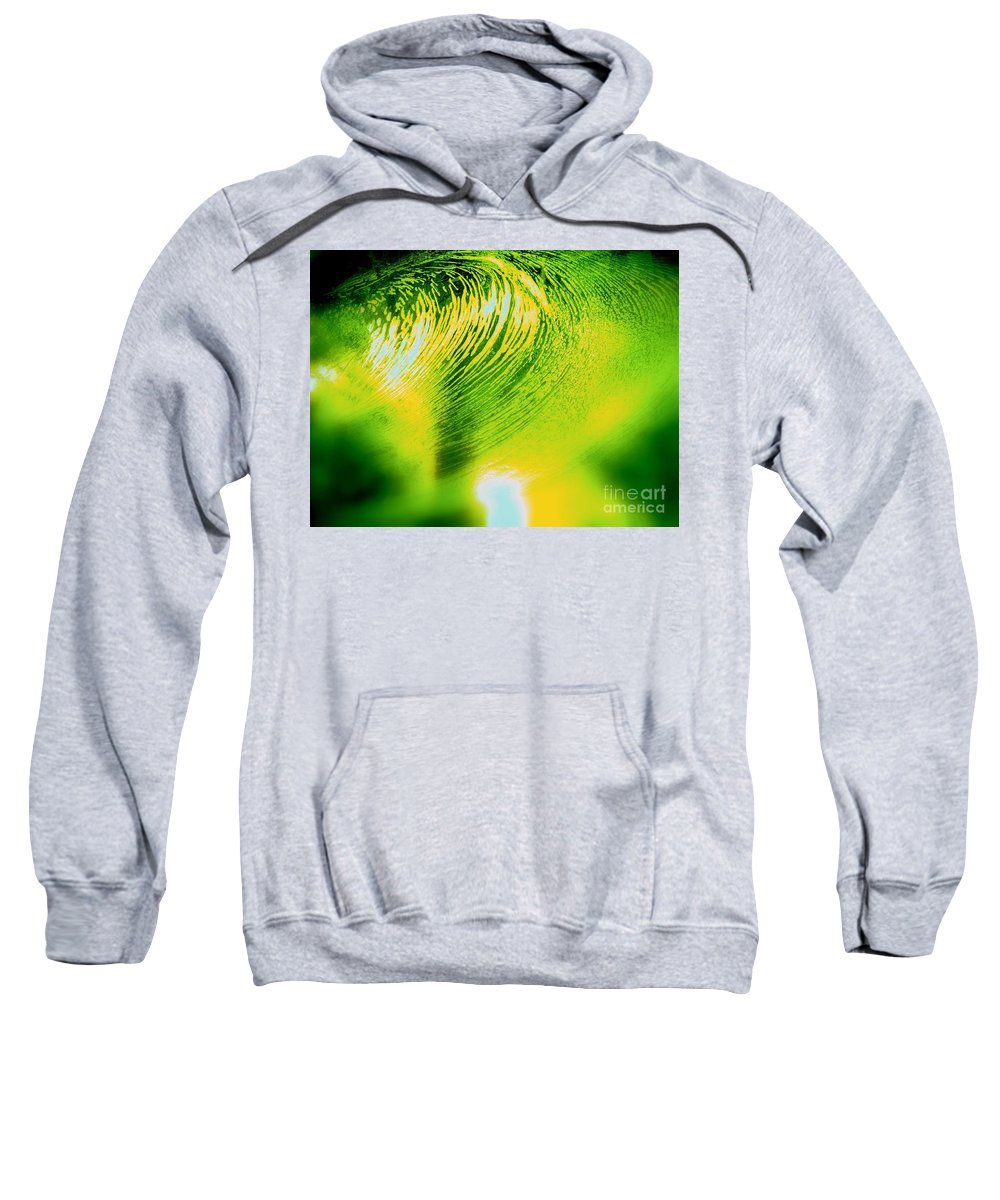 Abstract Sweatshirt featuring the photograph Universal Convergence by Sybil Staples