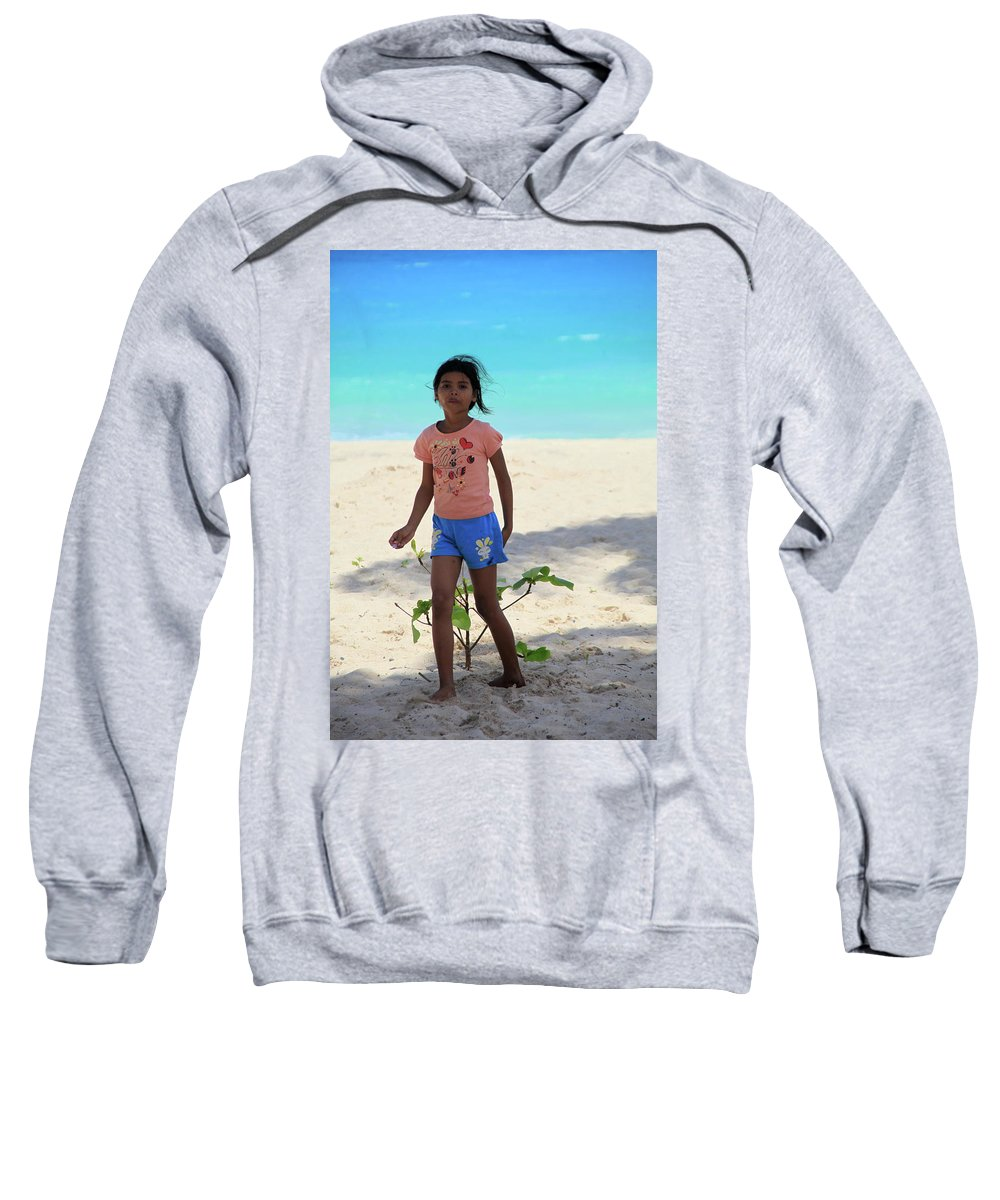Mati Sweatshirt featuring the photograph Until She Stole by Jez C Self