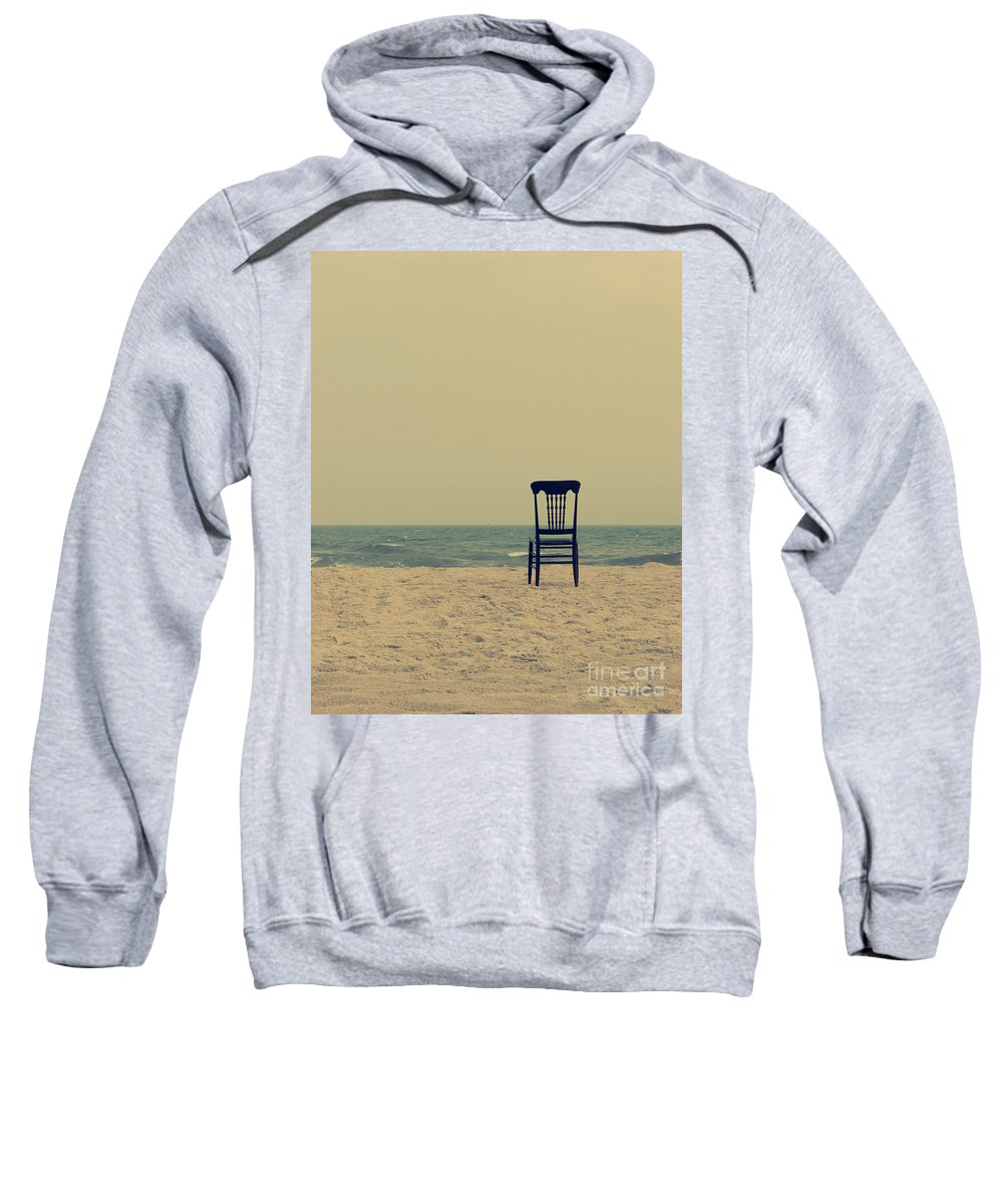 Ocean Sweatshirt featuring the photograph Until Tomorrow And Tomorrow And Tomorrow by Dana DiPasquale