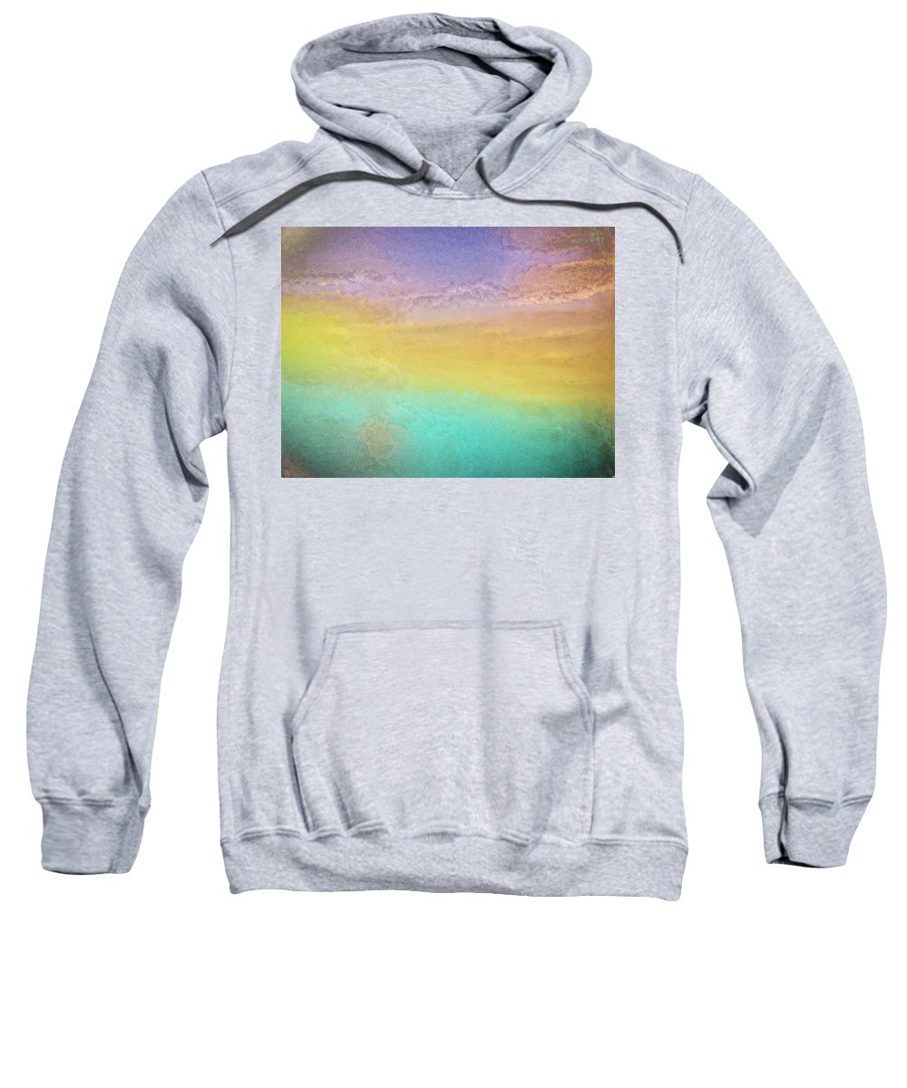 Abstract Sweatshirt featuring the photograph Untitled Abstract by Steve DaPonte