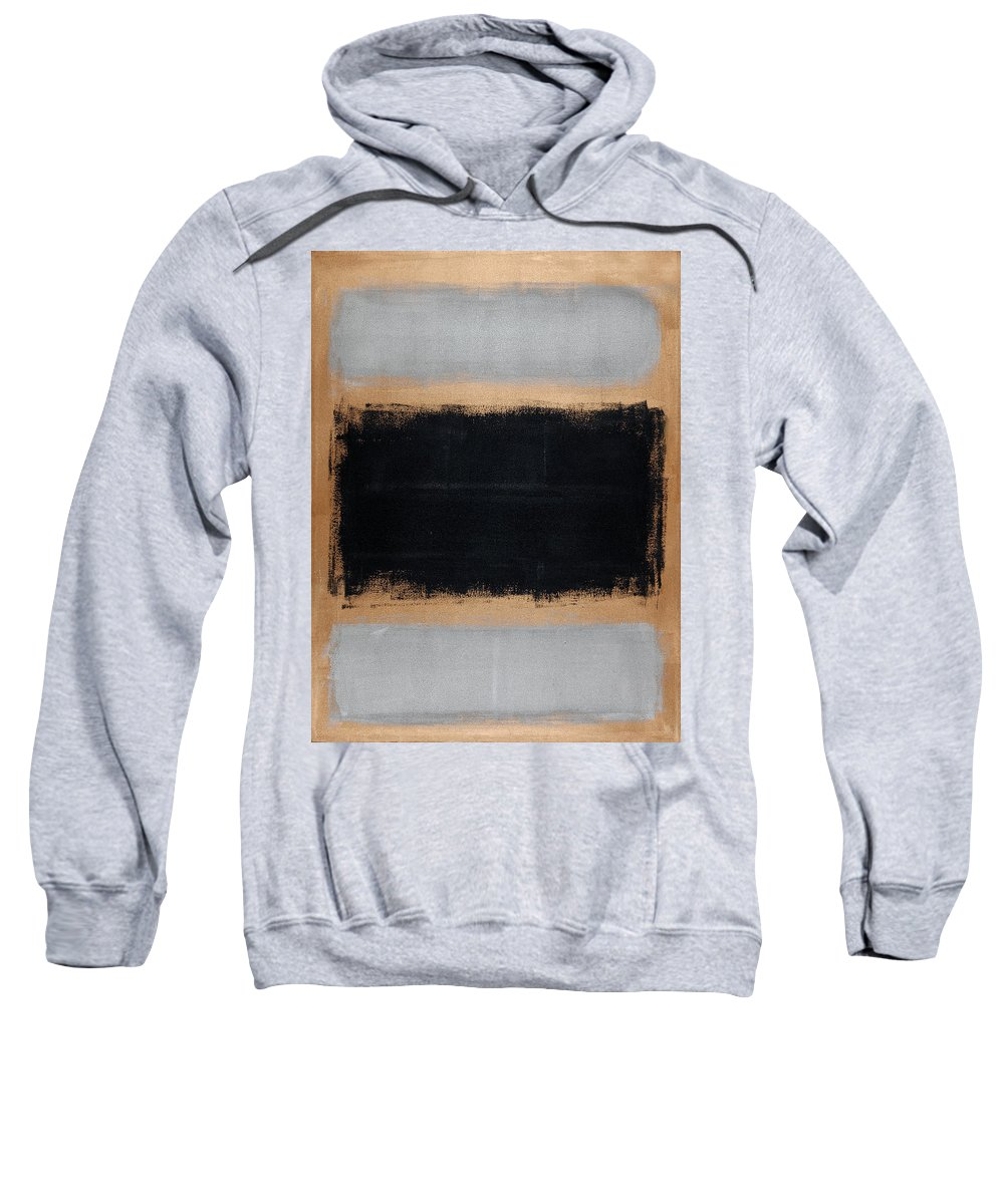 Blue Sweatshirt featuring the painting Untitled No. 15 by Julie Niemela