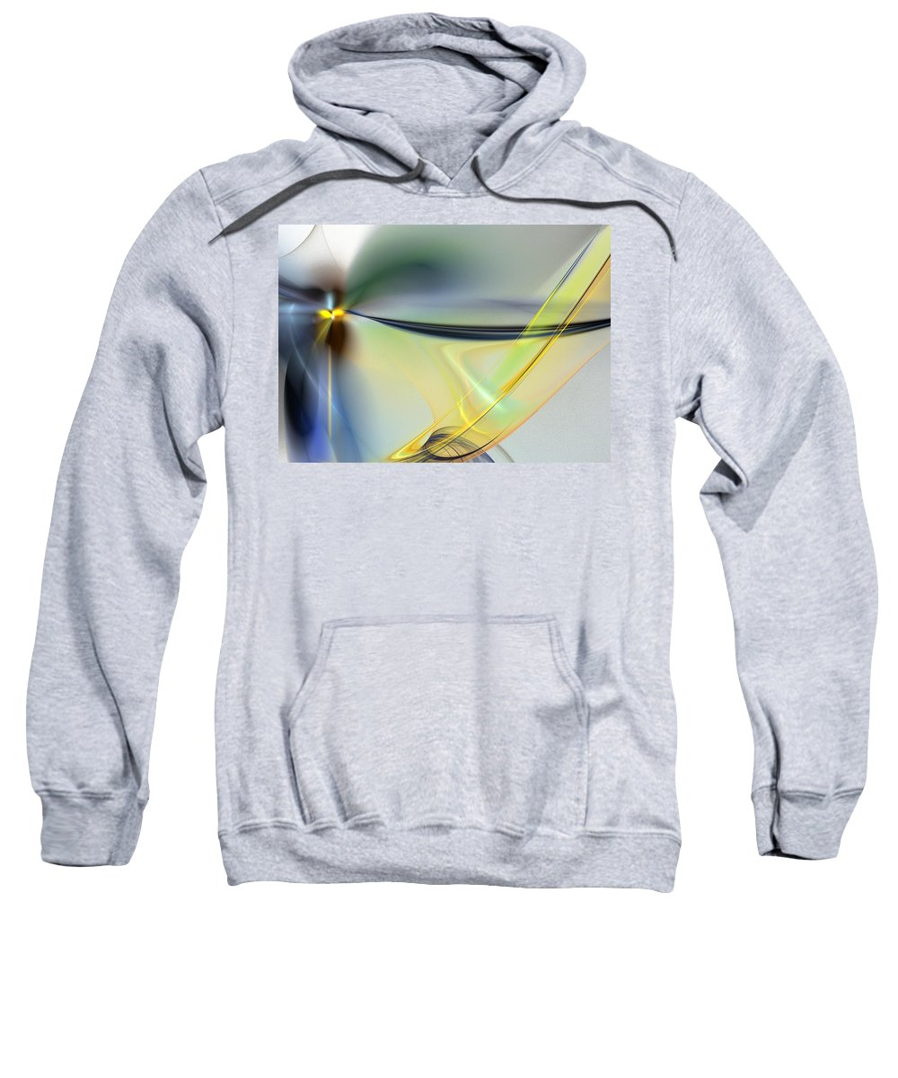 Digital Painting Sweatshirt featuring the digital art Untitled4-14-10-d by David Lane