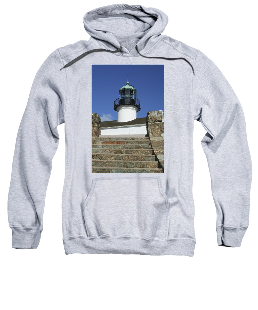Bay Sweatshirt featuring the photograph Up To The Light by Margie Wildblood