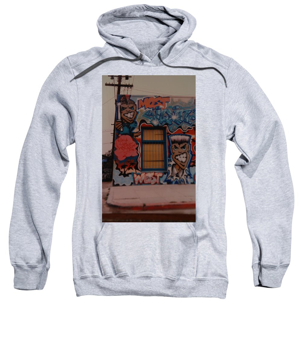 Urban Sweatshirt featuring the photograph Urban Art by Rob Hans