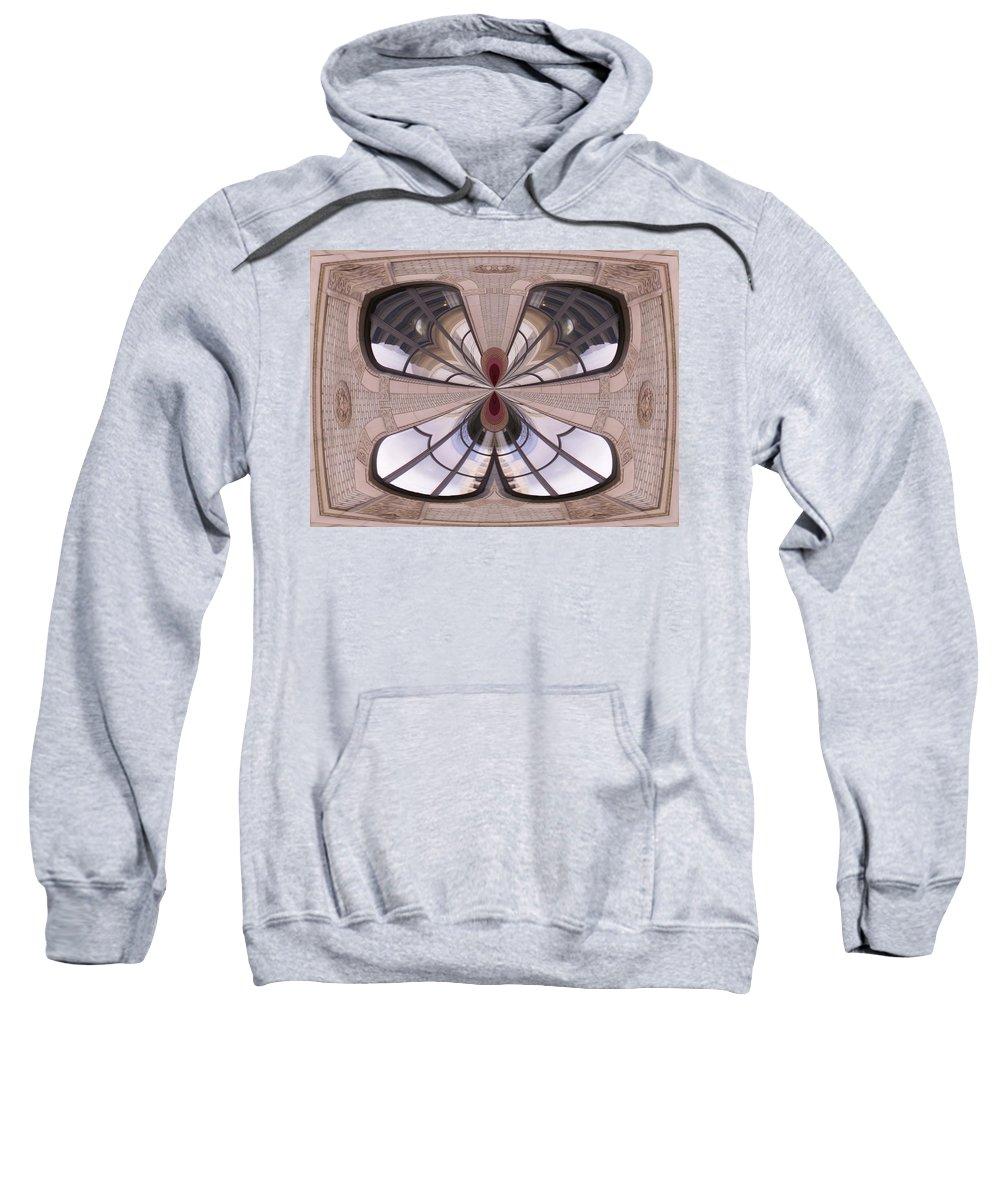 Seattle Sweatshirt featuring the photograph Urban Reflection by Tim Allen