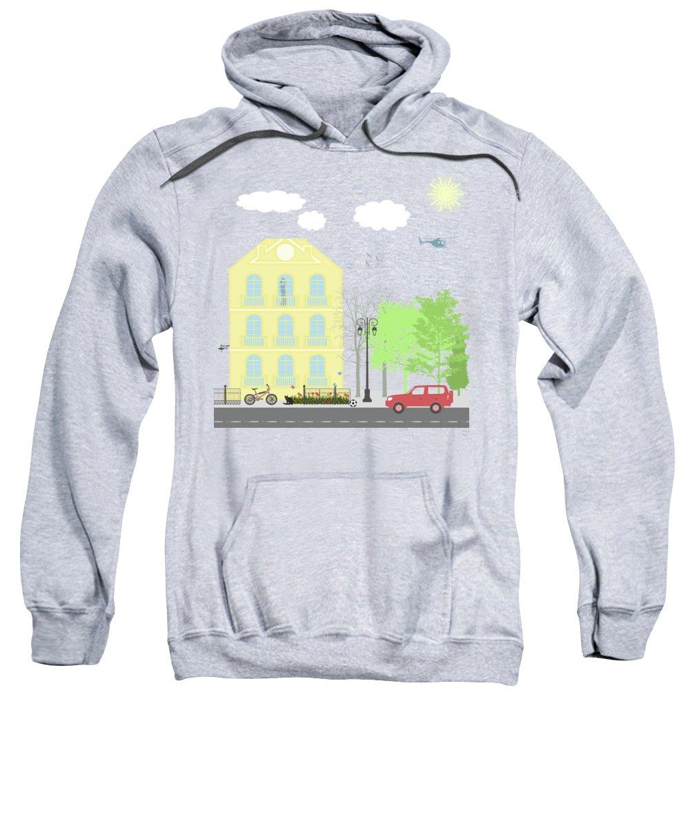 Residential Hooded Sweatshirts T-Shirts