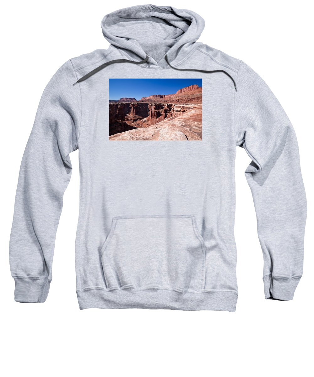 Utah Sweatshirt featuring the photograph Utah-canyonlands National Park by Arlene Waller