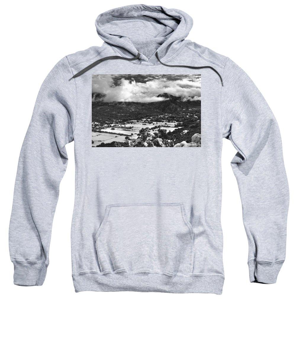 Valdez Sweatshirt featuring the photograph Valdez, New Mexico, April 17, 2016 by Mark Goebel