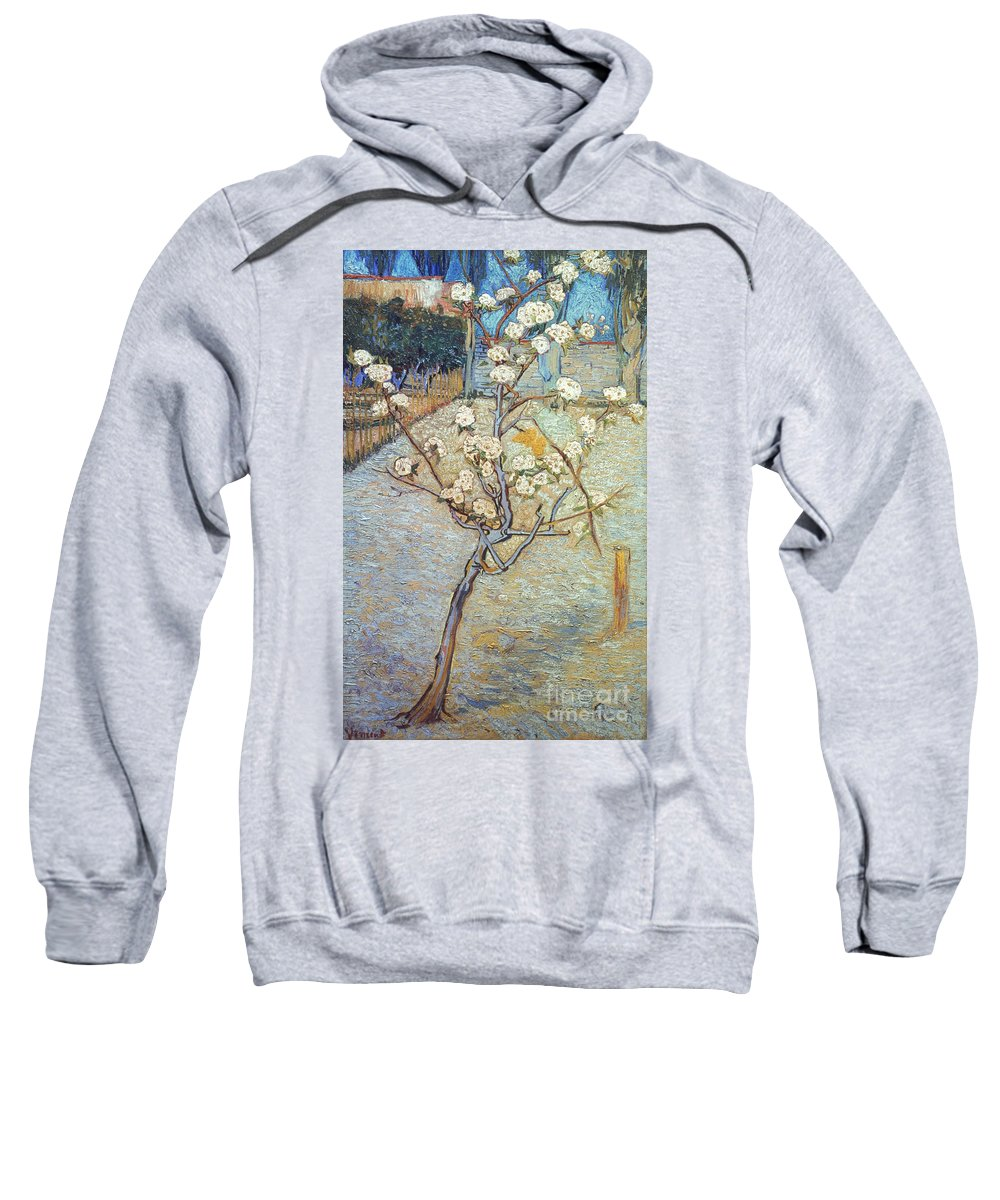 1888 Sweatshirt featuring the photograph Van Gogh: Peartree, 1888 by Granger