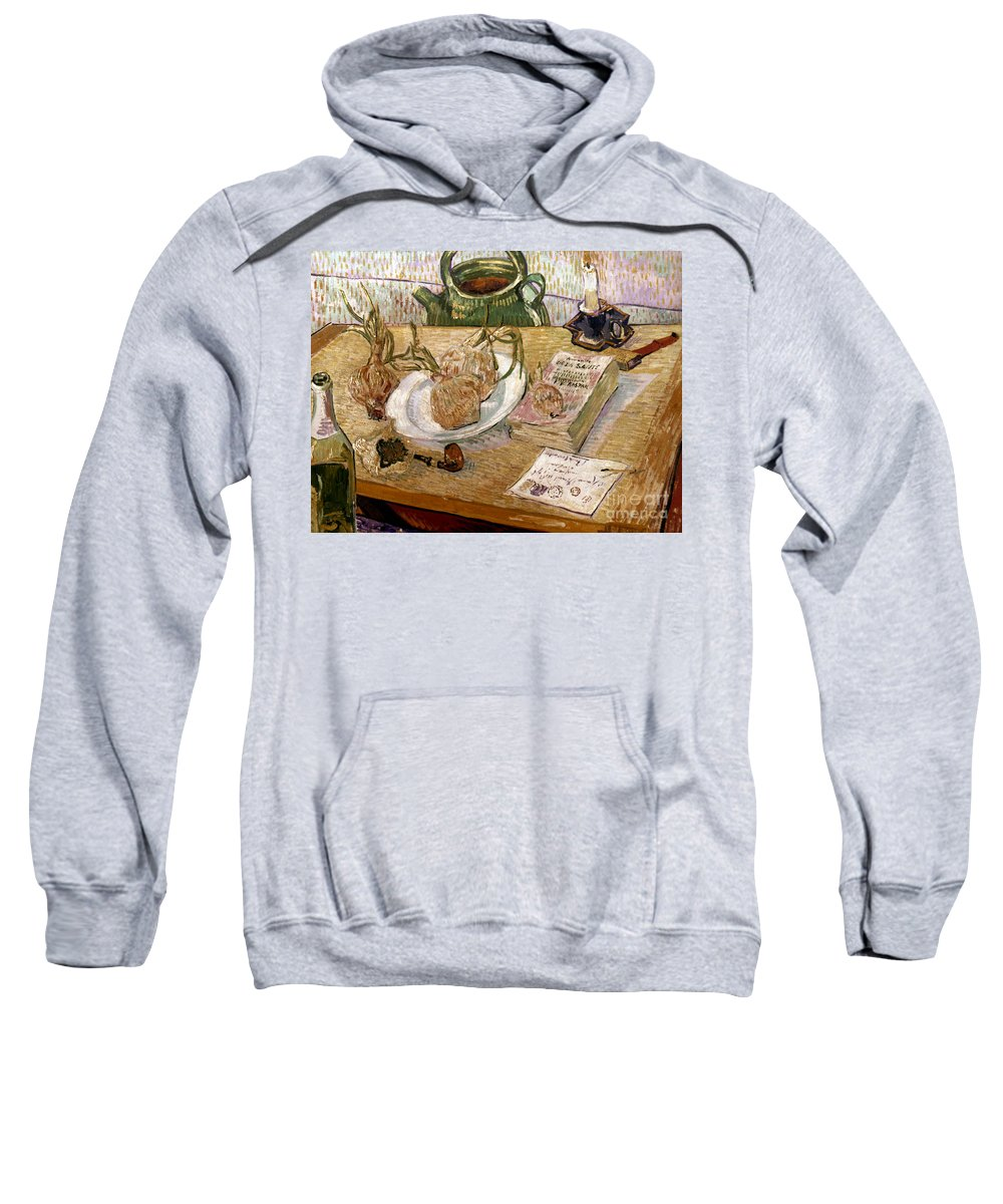 1889 Sweatshirt featuring the photograph Van Gogh: Still Life, 1889 by Granger