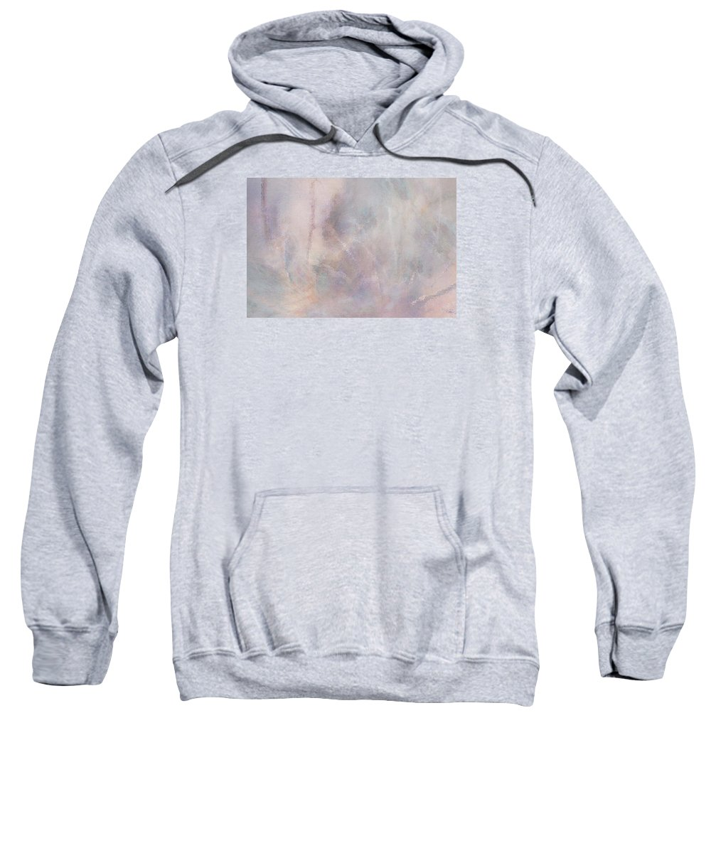 Digital Art Sweatshirt featuring the digital art Vanishing Act by Linda Murphy