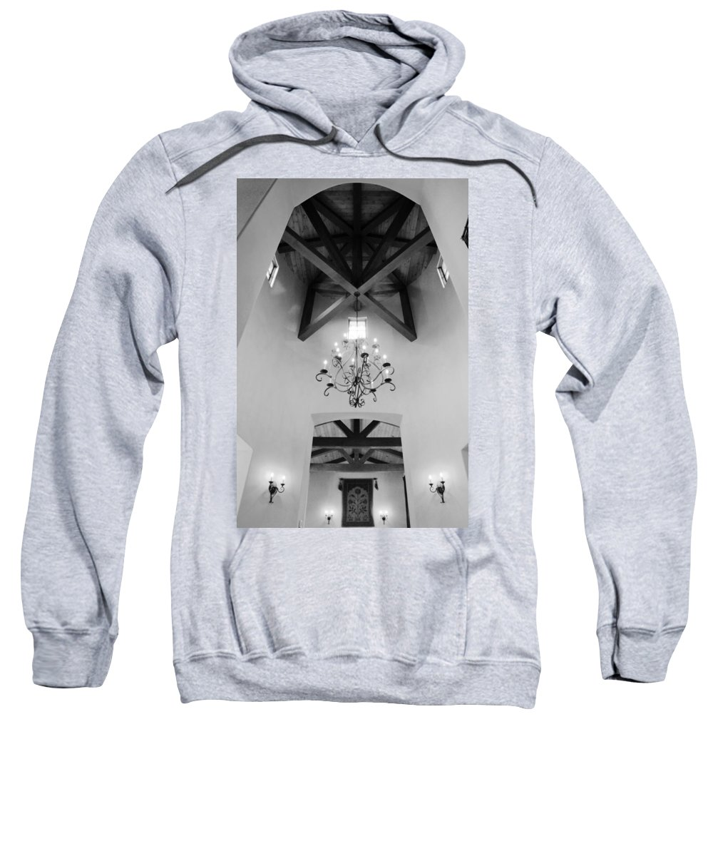 Architecture Sweatshirt featuring the photograph Vaulted Ceiling by Jill Reger