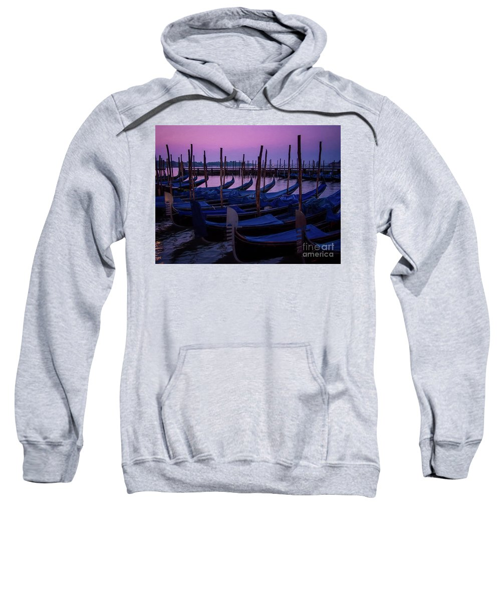 Venice Sweatshirt featuring the photograph Venetian Dawn by Doug Sturgess
