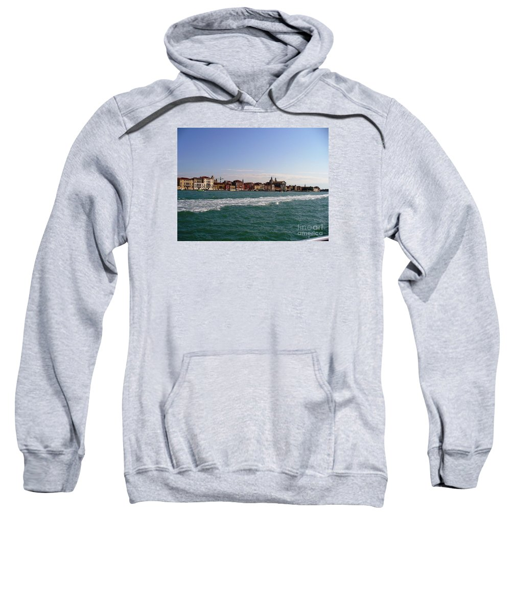 Landscape Sweatshirt featuring the photograph Venezia by Fernanda Cruz