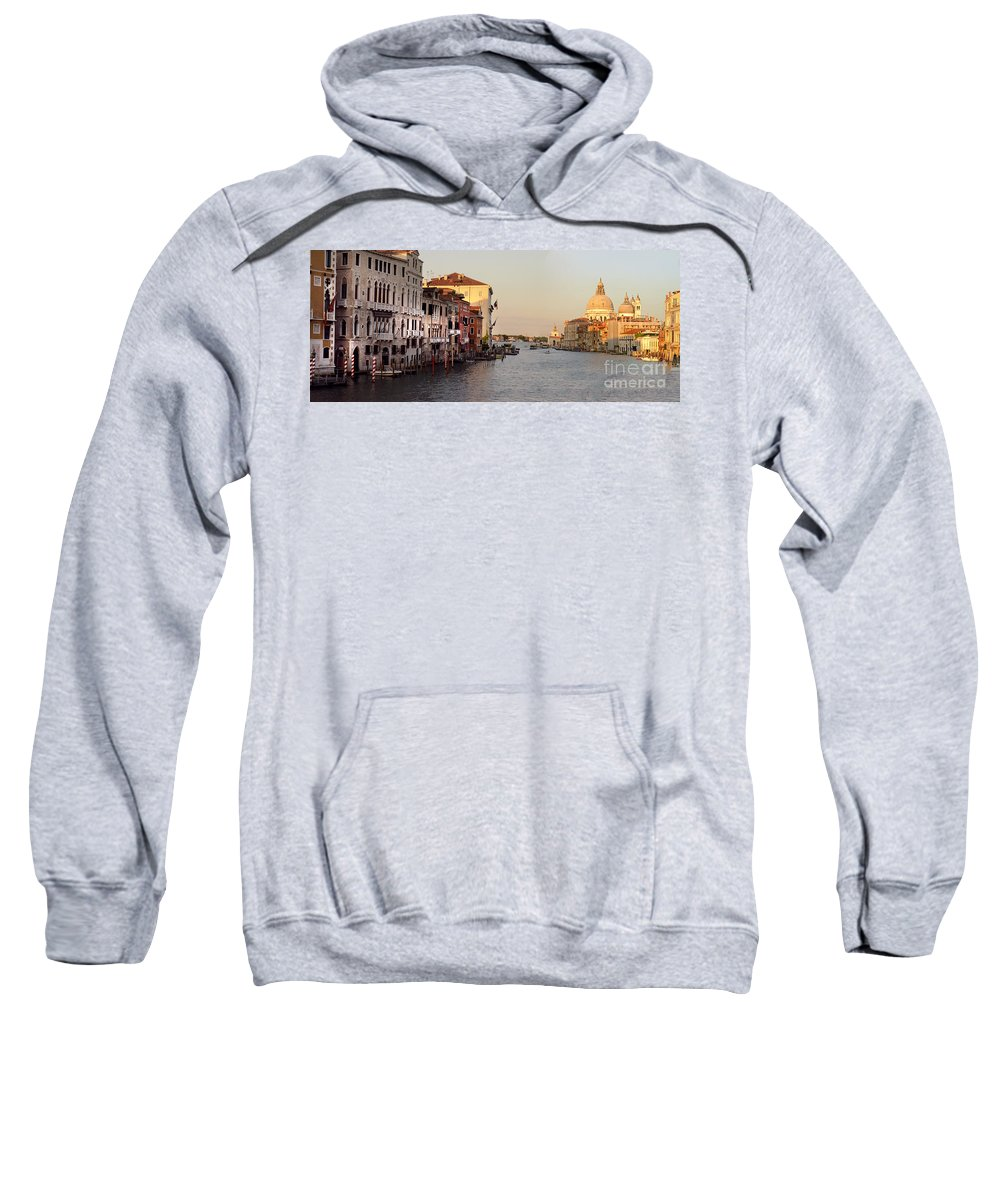 Venice Sweatshirt featuring the photograph Venice Lover by Elaine Berger