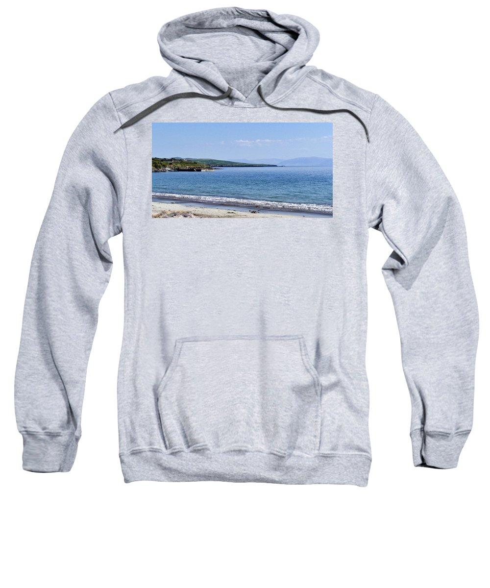 Irish Sweatshirt featuring the photograph Ventry Harbor On The Dingle Peninsula Ireland by Teresa Mucha