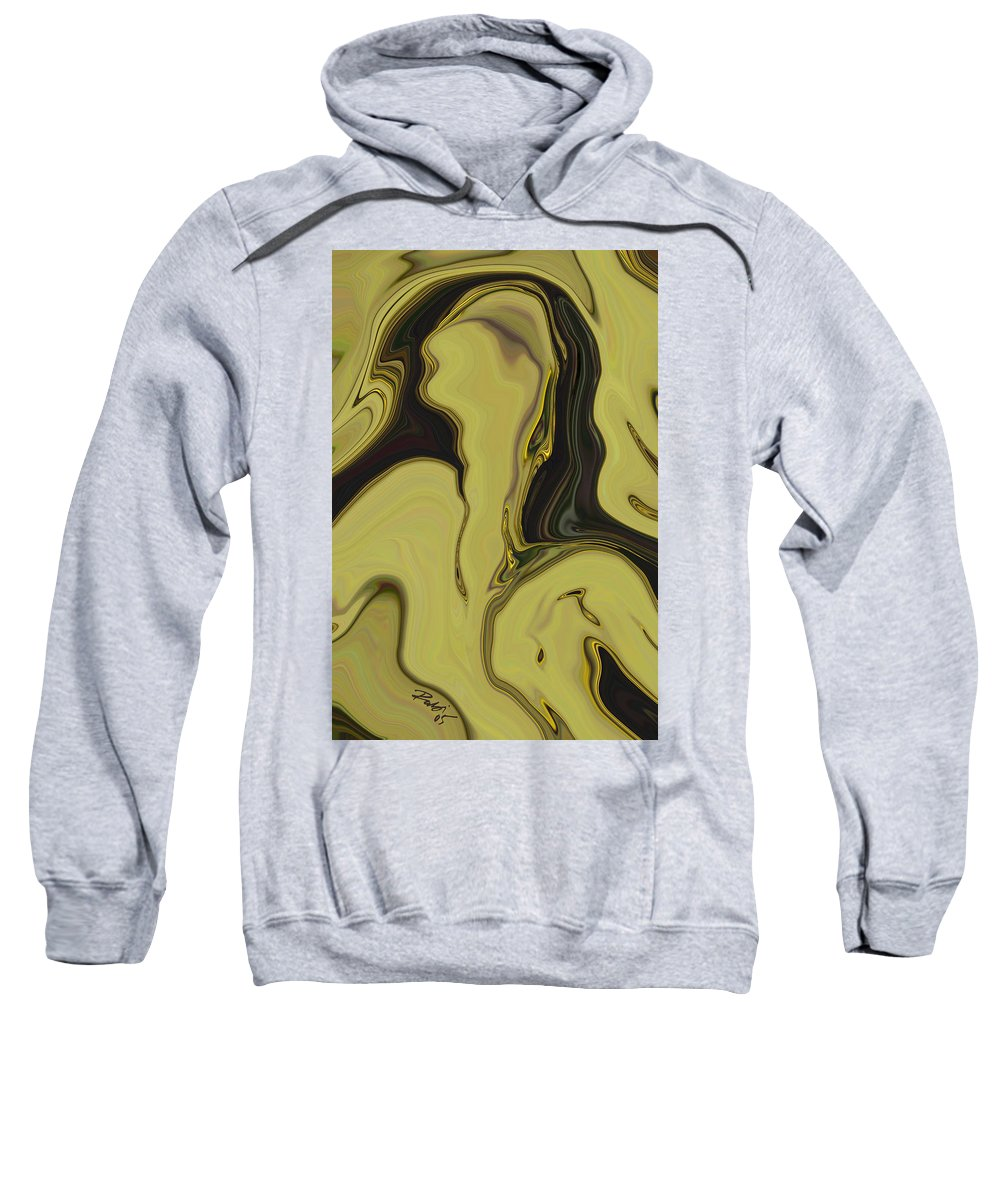 Art Sweatshirt featuring the digital art Venus by Rabi Khan