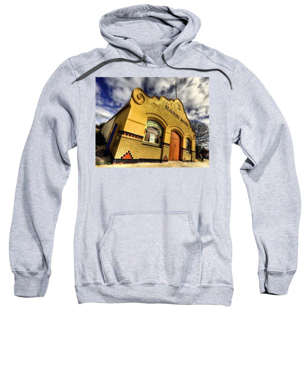Architecture Sweatshirt featuring the photograph Vintage Gem by Wayne Sherriff