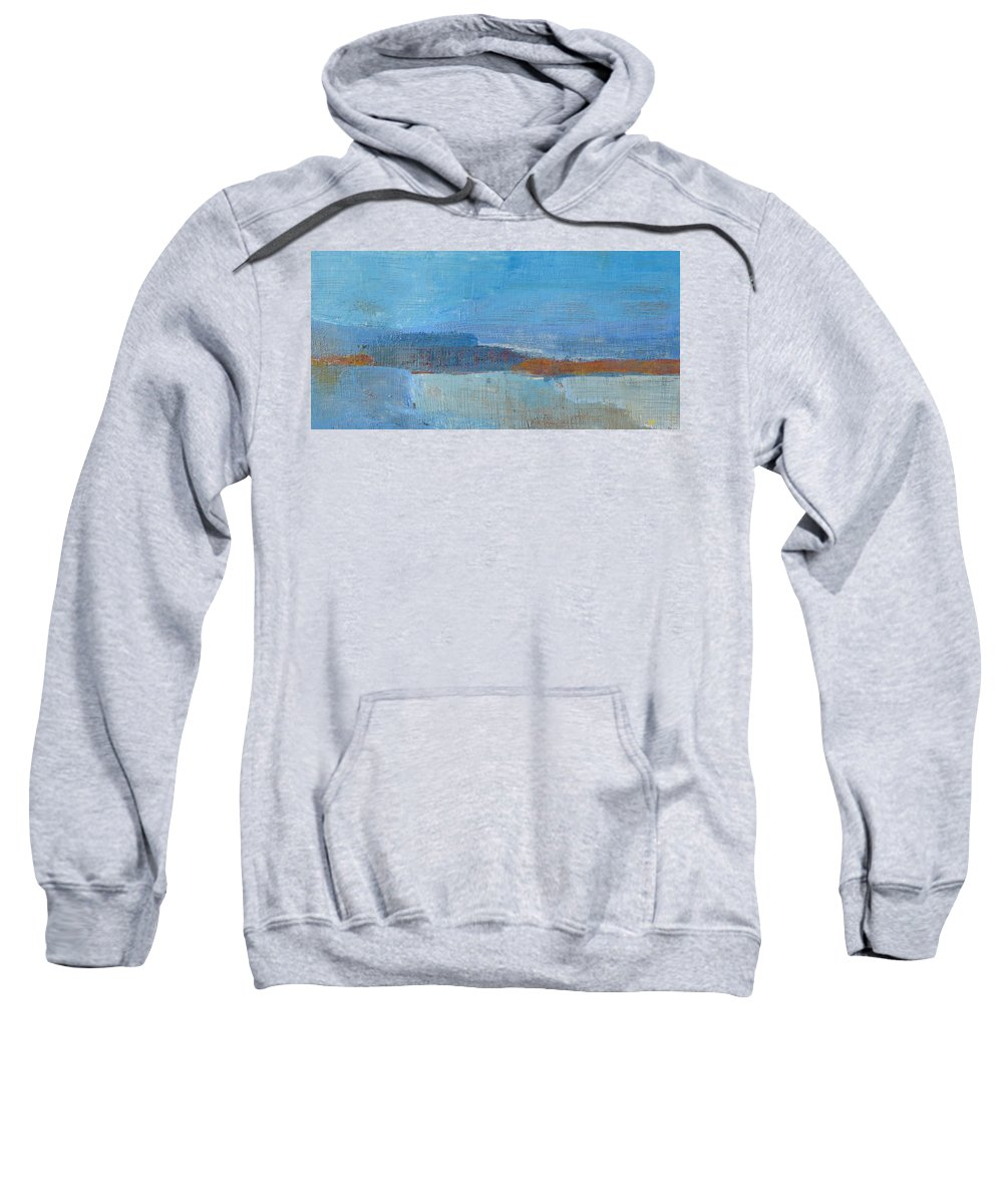 Abstract Sweatshirt featuring the painting Vision by Habib Ayat