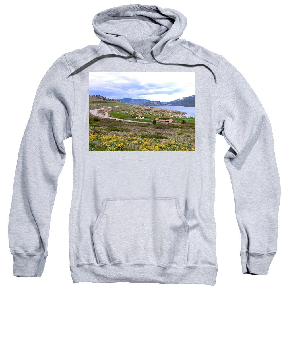 Vista 10 Sweatshirt featuring the photograph Vista 10 by Will Borden
