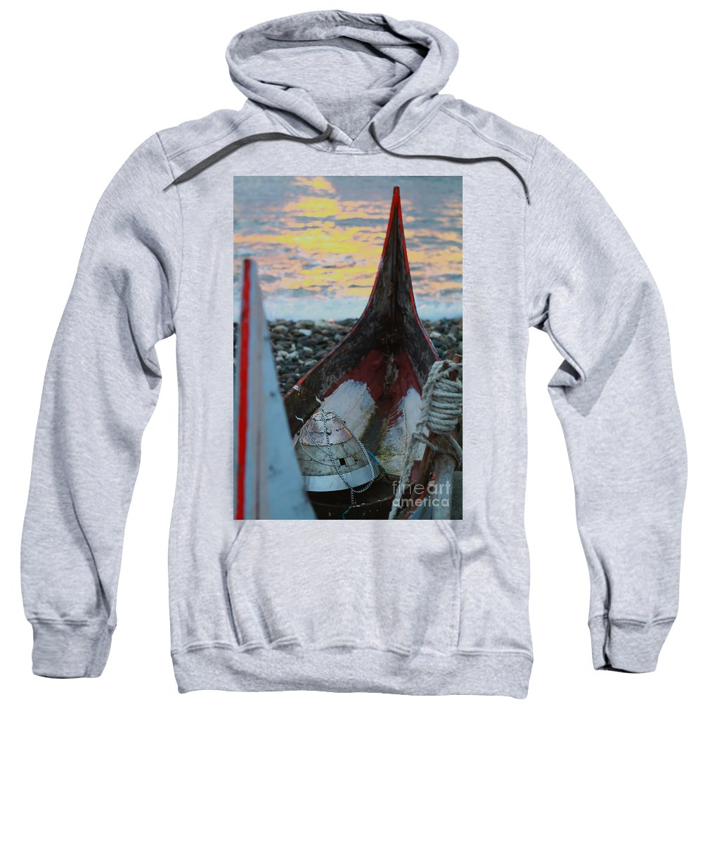 Tatala Sweatshirt featuring the photograph Volangat by MingTa Li