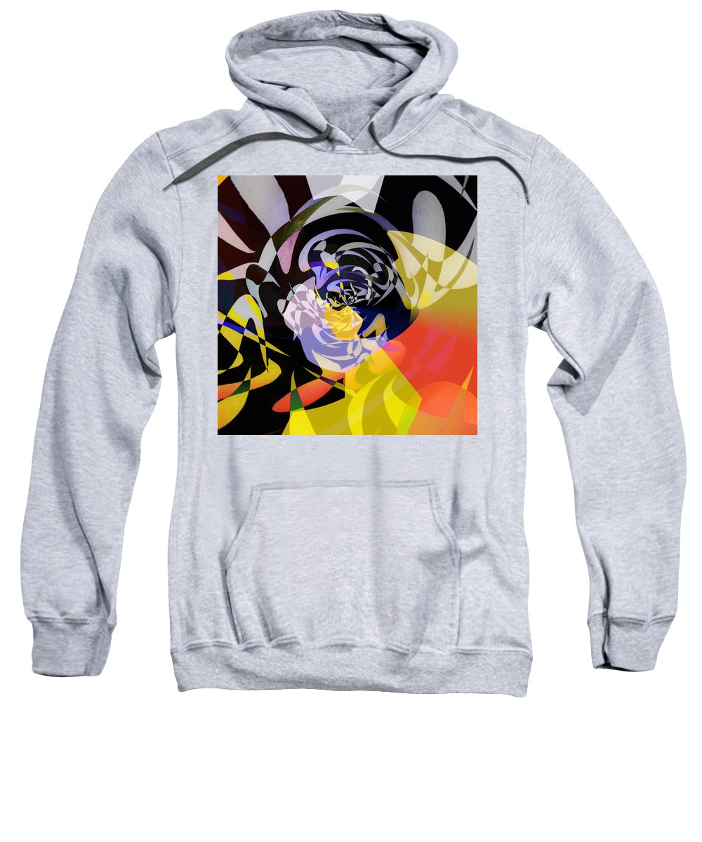 Modern Art Sweatshirt featuring the painting Vortice 1 by Philip Openshaw