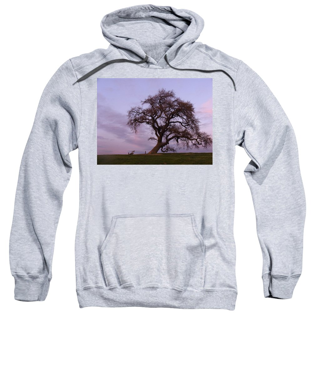 Livermore Sweatshirt featuring the photograph Waiting For Paul by Karen W Meyer