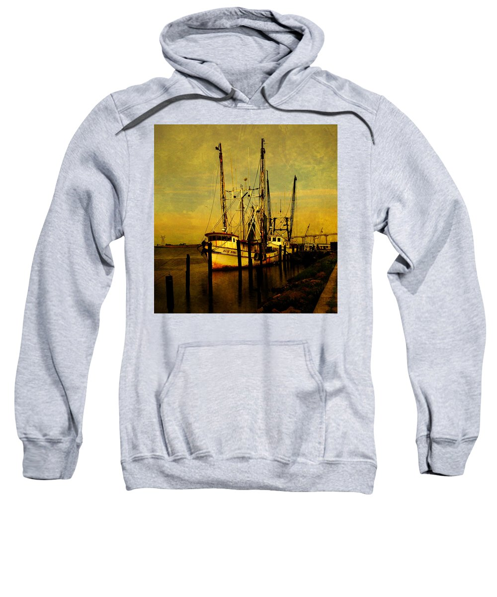 Rosa Marie Sweatshirt featuring the photograph Waiting For Tomorrow by Susanne Van Hulst