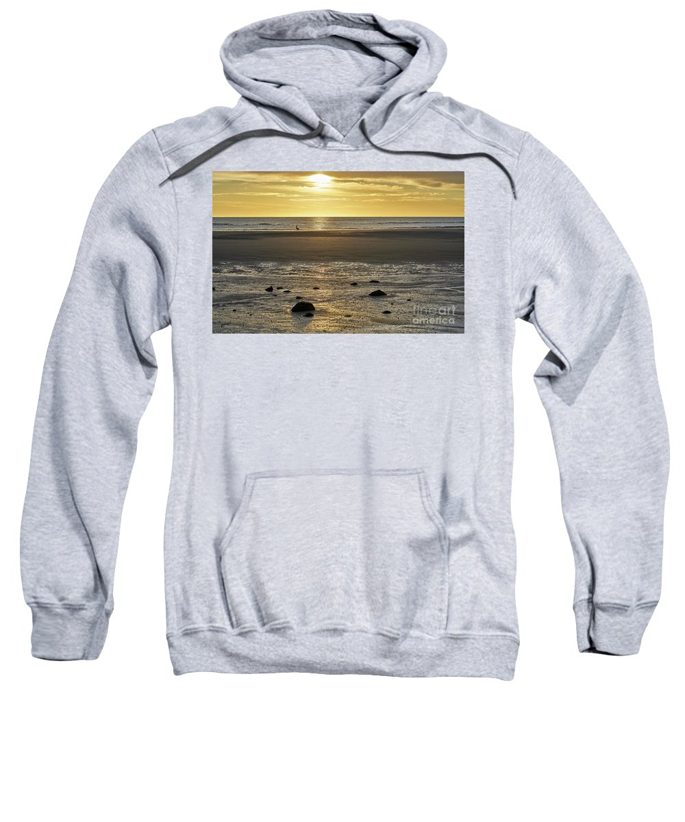 Sweatshirt featuring the photograph Wakinup by Bruce Jarmie