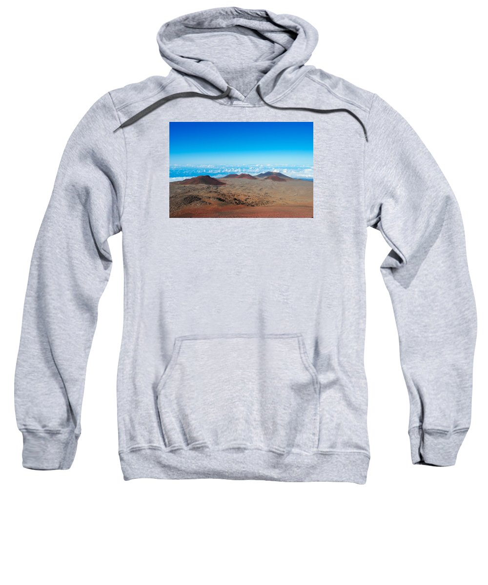 Mauna Kea Sweatshirt featuring the photograph Walking On The Moon by Megan Martens