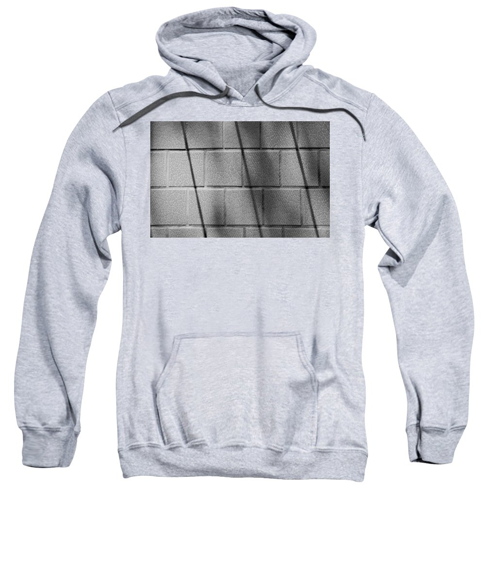 Shadow Sweatshirt featuring the photograph Wall In Shadow by Josephine Buschman