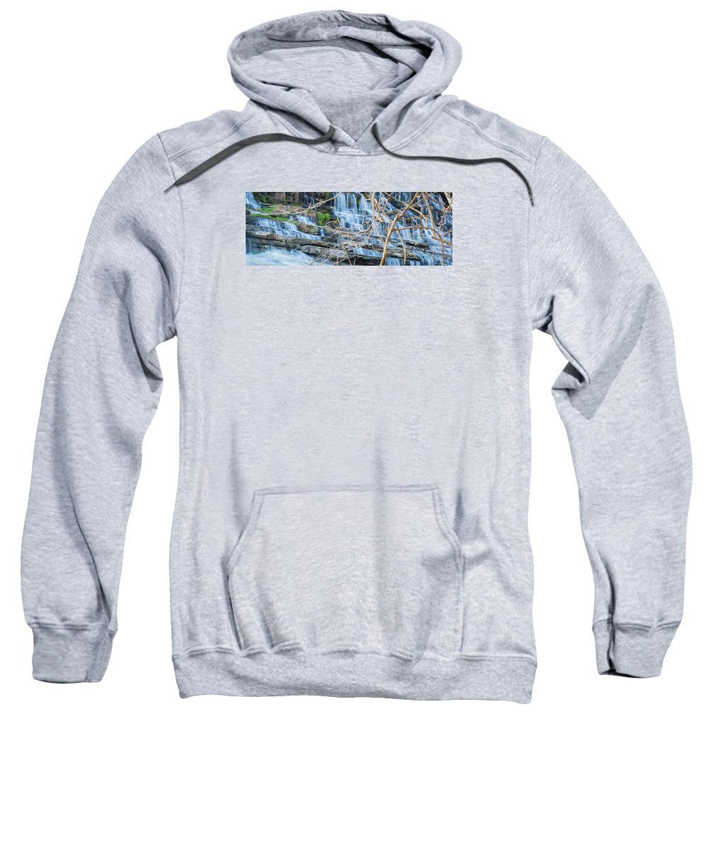Water Sweatshirt featuring the photograph Wall Of Water by Will Akers