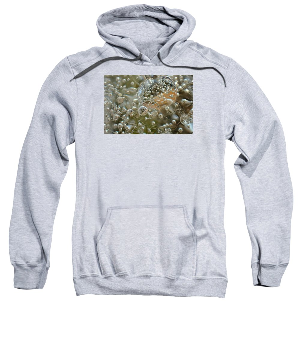 Ice Sweatshirt featuring the photograph Warp Gate by Alan Buck